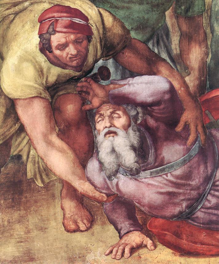 michelangelo-conversion-of-paul-detail