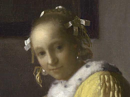 Vermeer Yellow Paint For Sale