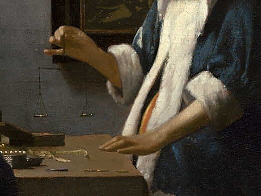 """johannes vermeers woman holding a balance essay Vermeer created a number of noteworthy works among which """"woman holding a balance"""" is the painter depicts a woman holding posted in sample essay."""