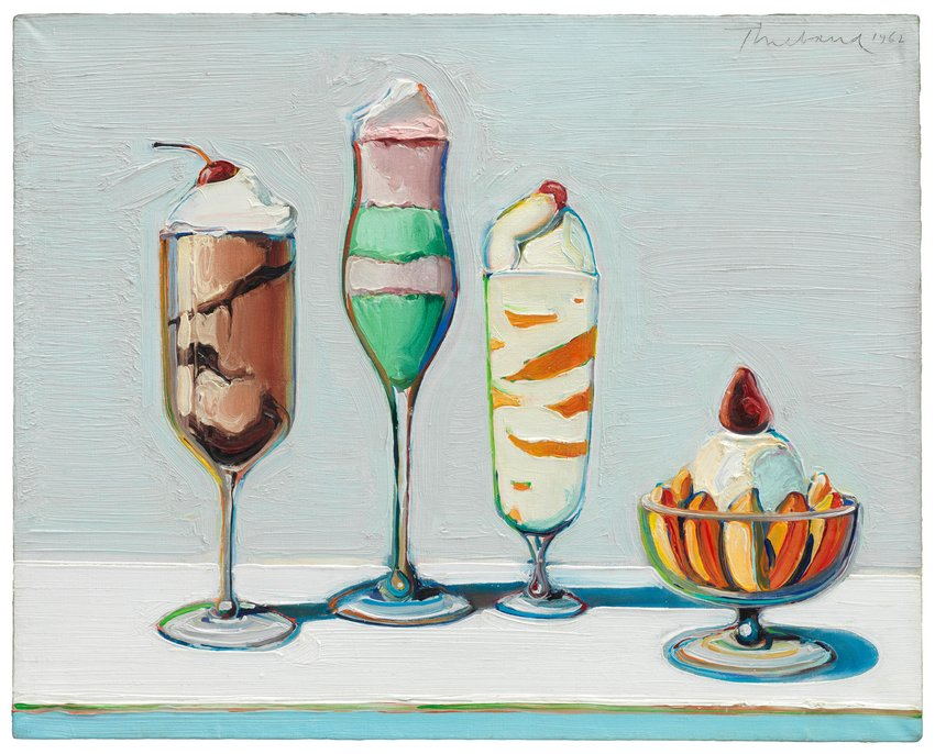 Wayne Thiebaud Confections 1962